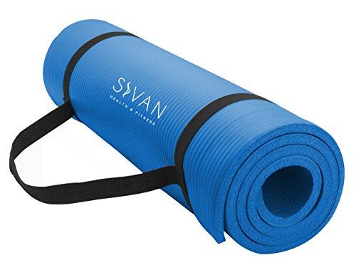 【特価】 ヨガマット フィットネス YGM-NBR-B Yoga, Sivan Health Yoga and Fitness 1 and/2-InchExtra Thick 71-Inch Long NBR Comfort Foam Yoga Mat for Exercise, Yoga, and Pilates (Blue)ヨガマット フィットネス YGM-NBR-B, so sweet:6fc3b39d --- canoncity.azurewebsites.net