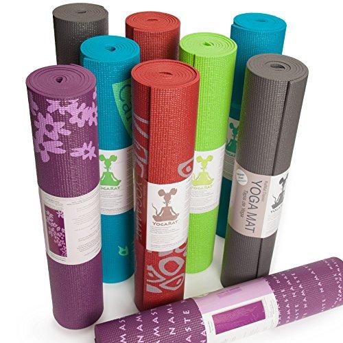 ヨガマット フィットネス .01035 RatMat PRINTED YOGA MAT: Eco-friendly, nontoxic foam construction. Extra-thick and durable. 24