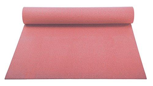ヨガマット フィットネス YogaAccessories 1/8'' Lightweight Classic Yoga Mat and Exercise Pad - Blushヨガマット フィットネス