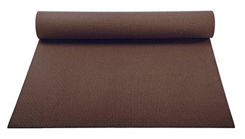 ヨガマット フィットネス YogaAccessories 1/8'' Lightweight Classic Yoga Mat and Exercise Pad - Dark Chocolateヨガマット フィットネス