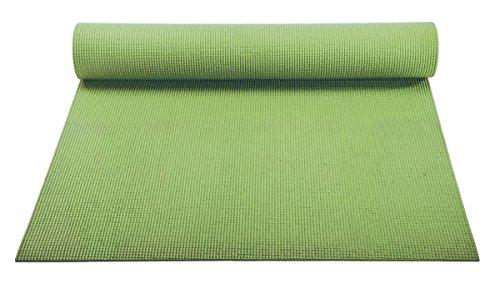 ヨガマット フィットネス 【送料無料】YogaAccessories 1/8'' Lightweight Classic Yoga Mat and Exercise Pad - Olive Greenヨガマット フィットネス