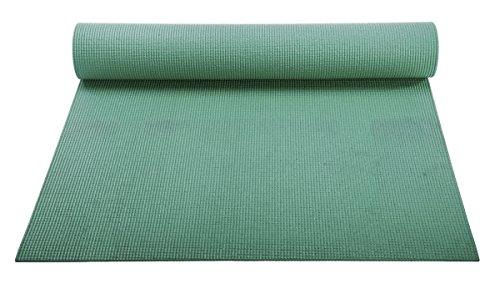 ヨガマット フィットネス 【送料無料】YogaAccessories 1/8'' Lightweight Classic Yoga Mat and Exercise Pad - Forest Greenヨガマット フィットネス