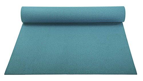 ヨガマット フィットネス YogaAccessories 1/8'' Lightweight Classic Yoga Mat and Exercise Pad - Teal Greenヨガマット フィットネス