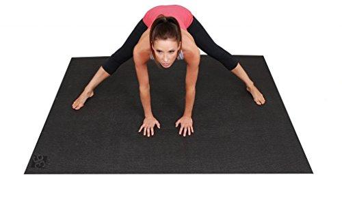 ヨガマット フィットネス Square36 Large Yoga Mat 6 Ft x 4 Ft (72