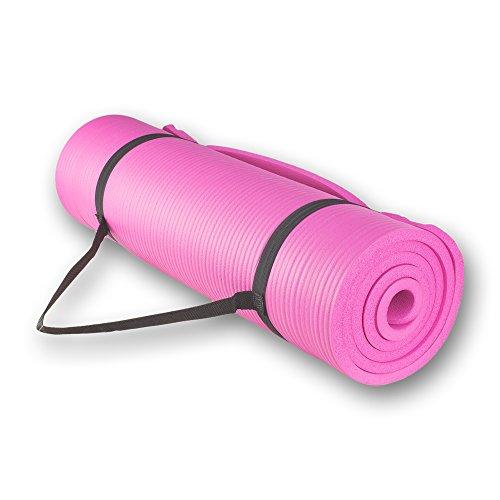 ヨガマット フィットネス 【送料無料】szk sports Slip and Moisture Resistance Yoga Exercise Floor Mat - Pinkヨガマット フィットネス