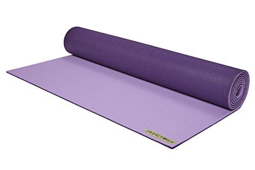 ヨガマット フィットネス Jade Yoga Two-Toned Harmony 71-Inch Yoga Mat (Lavender/Purple)ヨガマット フィットネス