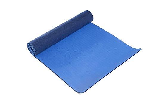 ヨガマット フィットネス SM572BL Thinksport Yoga Mat, Black/Blueヨガマット フィットネス SM572BL