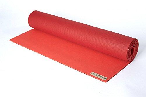 ヨガマット フィットネス Jade Yoga Jade Harmony Yoga Mat (Chili Pepper/Sedona Red, 71
