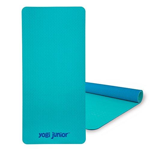 ヨガマット フィットネス Yogi Junior Kids Yoga Mat - PVC Free - Double Layered TPE Foamヨガマット フィットネス