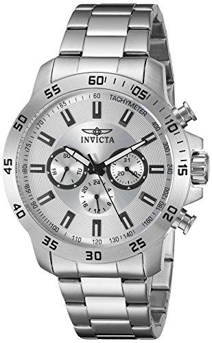 インヴィクタ インビクタ 腕時計 メンズ 【送料無料】Invicta Men's 21501 Specialty Analog Display Swiss Quartz Silver-ToneWatchインヴィクタ インビクタ 腕時計 メンズ