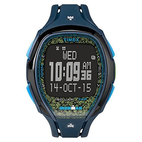 タイメックス 腕時計 メンズ 【送料無料】Timex Ironman Sleek 150 Men's Digital LCD Alarm Chronograph Watch - Blue - TW5M08200タイメックス 腕時計 メンズ