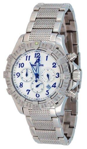 腕時計 アディーケイ メンズ アメリカ LA 【送料無料】Adee Kaye #AK7140-M Men's Stainless Steel Silver Dial Chronograph Watch腕時計 アディーケイ メンズ アメリカ LA