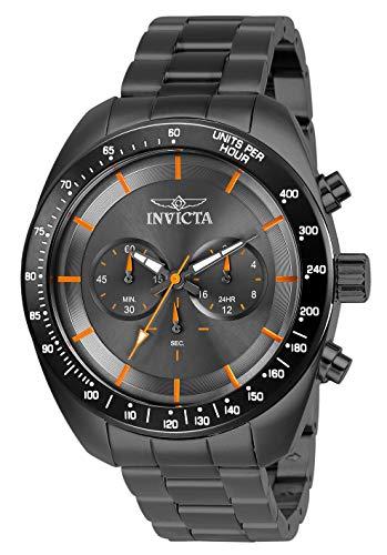 腕時計 インヴィクタ インビクタ スピードウェイ メンズ 【送料無料】Invicta Men's Speedway Quartz Watch with Stainless Steel Strap, Gunmetal, 22 (Model: 28903)腕時計 インヴィクタ インビクタ スピードウェイ メンズ