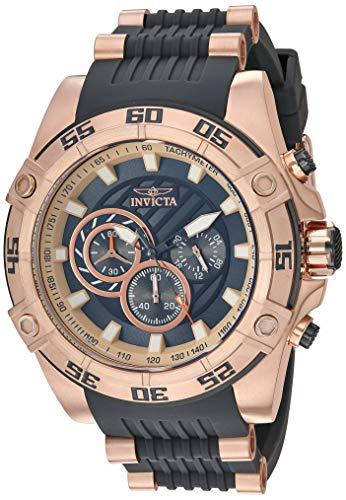 インヴィクタ インビクタ スピードウェイ 腕時計 メンズ 【送料無料】Invicta Men's Speedway Quartz Watch with Stainless Steel Strap, Black, 26 (Model: 30109)インヴィクタ インビクタ スピードウェイ 腕時計 メンズ