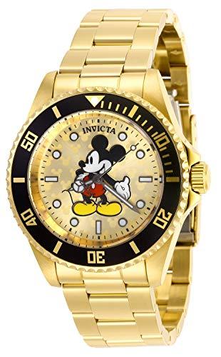 インヴィクタ インビクタ 腕時計 メンズ ディズニー 【送料無料】Invicta Disney Limited Edition Quartz Gold Dial Men's Watch 29670インヴィクタ インビクタ 腕時計 メンズ ディズニー