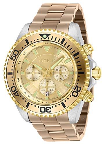 インヴィクタ インビクタ プロダイバー 腕時計 メンズ 【送料無料】Invicta Men's Pro Diver Quartz Watch with Stainless Steel Strap, Carnation, 22 (Model: 27476)インヴィクタ インビクタ プロダイバー 腕時計 メンズ