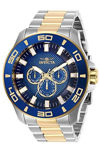 インヴィクタ インビクタ プロダイバー 腕時計 メンズ 【送料無料】Invicta Men's Pro Diver Quartz Watch with Stainless Steel Strap, Silver, Gold, 26 (Model: 27998)インヴィクタ インビクタ プロダイバー 腕時計 メンズ