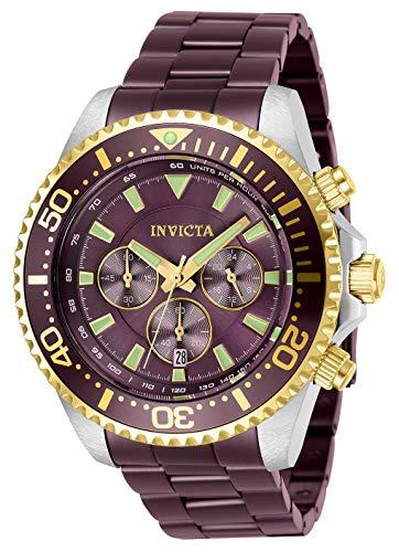 インヴィクタ インビクタ プロダイバー 腕時計 メンズ 【送料無料】Invicta Men's Pro Diver Quartz Watch with Stainless Steel Strap, Coffee, 22 (Model: 27478)インヴィクタ インビクタ プロダイバー 腕時計 メンズ