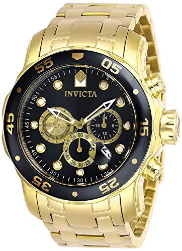インヴィクタ インビクタ プロダイバー 腕時計 メンズ 【送料無料】Invicta Men's Pro Diver Quartz Watch with Stainless Steel Strap, Gold, 26 (Model: 28720)インヴィクタ インビクタ プロダイバー 腕時計 メンズ