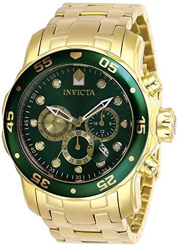 インヴィクタ インビクタ プロダイバー 腕時計 メンズ 【送料無料】Invicta Men's Pro Diver Quartz Watch with Stainless Steel Strap, Gold, 26 (Model: 28719)インヴィクタ インビクタ プロダイバー 腕時計 メンズ