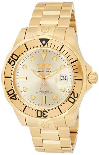 インヴィクタ インビクタ プロダイバー 腕時計 メンズ 【送料無料】Invicta Men's 3051 Pro Diver Analog Display Automatic Self Wind Gold Watchインヴィクタ インビクタ プロダイバー 腕時計 メンズ