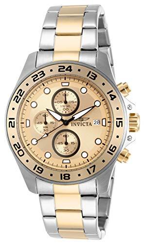 腕時計 インヴィクタ インビクタ プロダイバー メンズ 【送料無料】Invicta Men's 15207 Pro Diver Chronograph Gold Dial Two Tone Stainless Steel Watch腕時計 インヴィクタ インビクタ プロダイバー メンズ