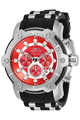 インヴィクタ インビクタ 腕時計 メンズ 【送料無料】Invicta Men's Bolt Stainless Steel Quartz Watch with Silicone Strap, Two Tone, 26 (Model: 28878)インヴィクタ インビクタ 腕時計 メンズ