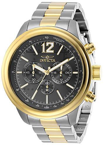 インヴィクタ インビクタ 腕時計 メンズ 【送料無料】Invicta Men's Aviator Quartz Watch with Stainless Steel Strap, Two Tone, 22 (Model: 28901)インヴィクタ インビクタ 腕時計 メンズ