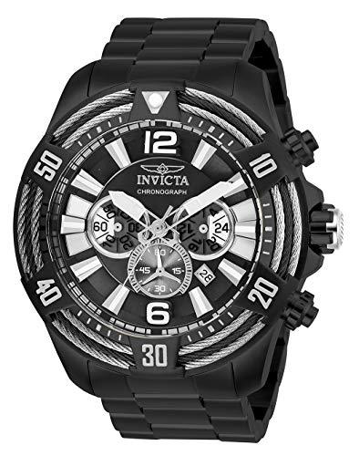 インヴィクタ インビクタ 腕時計 メンズ Invicta Men's Bolt Quartz Watch with Stainless Steel Strap, Black, 26 (Model: 27270)インヴィクタ インビクタ 腕時計 メンズ