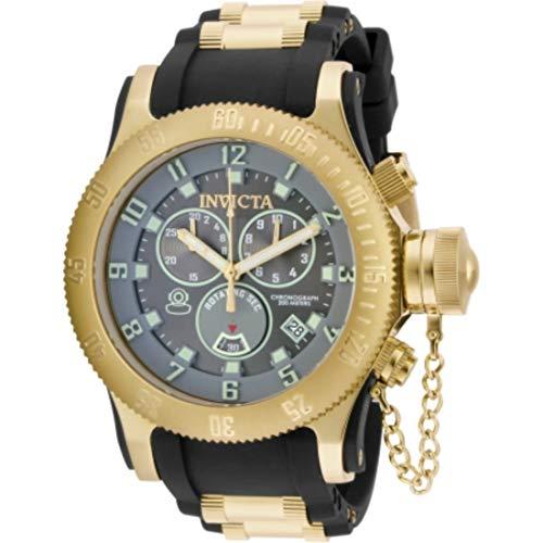 インヴィクタ インビクタ 腕時計 メンズ Invicta Men's 15564 Russian Diver Analog-Display Swiss Quartz Black Watchインヴィクタ インビクタ 腕時計 メンズ