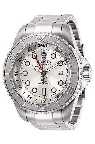 インヴィクタ インビクタ 腕時計 メンズ Invicta Men's Hydromax Quartz Watch with Stainless Steel Strap, Silver, 24 (Model: 29726)インヴィクタ インビクタ 腕時計 メンズ
