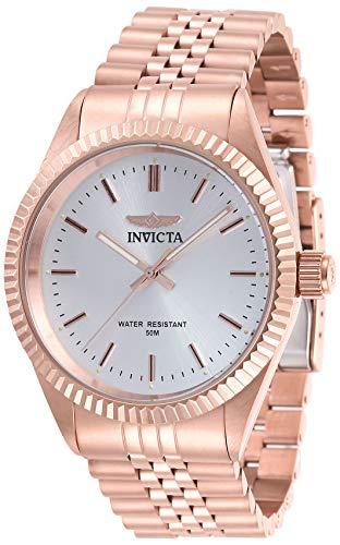 インヴィクタ インビクタ 腕時計 メンズ 【送料無料】Invicta Men's Specialty Rose Gold-Tone Steel Bracelet & Case Quartz Silver-Tone Dial Analog Watch 29390インヴィクタ インビクタ 腕時計 メンズ