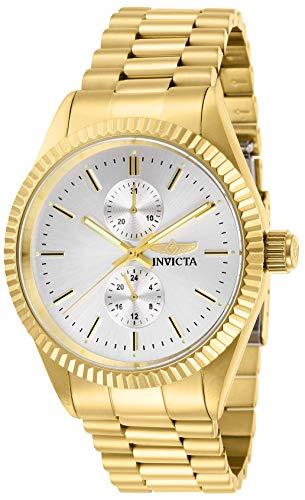 インヴィクタ インビクタ 腕時計 メンズ Invicta Men's Specialty Quartz Watch with Stainless Steel Strap, Gold, 22 (Model: 29428)インヴィクタ インビクタ 腕時計 メンズ