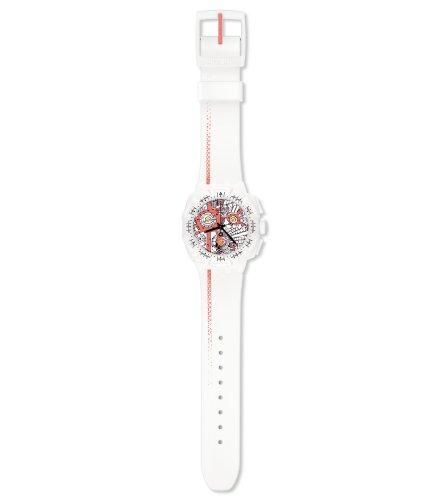 スウォッチ 腕時計 メンズ 【送料無料】Swatch Men's SUIW411 Street Map Flash Multi-Color Dial Watchスウォッチ 腕時計 メンズ