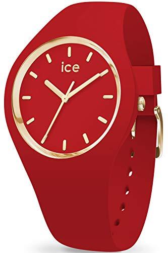 アイスウォッチ 腕時計 レディース かわいい Ice-Watch IC016263 ICE-Glam Watch Woman Red Siliconeアイスウォッチ 腕時計 レディース かわいい