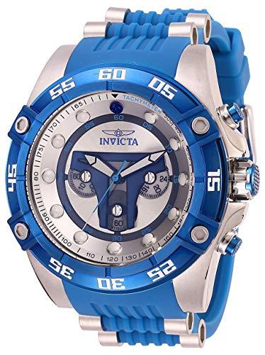 インヴィクタ インビクタ 腕時計 メンズ Invicta Men's Star Wars Stainless Steel Quartz Watch with Silicone Strap, Blue, 26 (Model: 27966)インヴィクタ インビクタ 腕時計 メンズ
