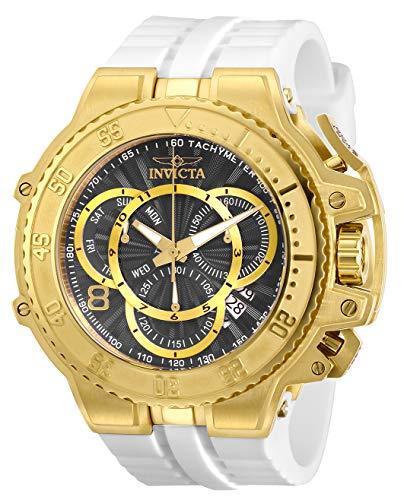 インヴィクタ インビクタ 腕時計 メンズ Invicta Men's Excursion Stainless Steel Quartz Watch with Silicone Strap, White, 33.3 (Model: 27511)インヴィクタ インビクタ 腕時計 メンズ