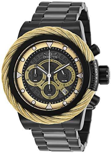 インヴィクタ インビクタ 腕時計 メンズ Invicta Men's Bolt Quartz Watch with Stainless Steel Strap, Black, 24 (Model: 27807)インヴィクタ インビクタ 腕時計 メンズ