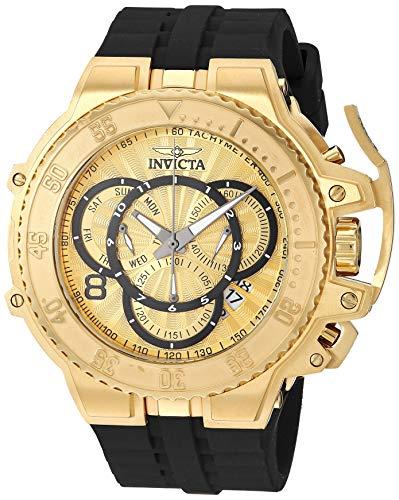 インヴィクタ インビクタ 腕時計 メンズ Invicta Men's Excursion Stainless Steel Analog Quartz Watch with Silicone Strap, Black, 26 (Model: 27508)インヴィクタ インビクタ 腕時計 メンズ