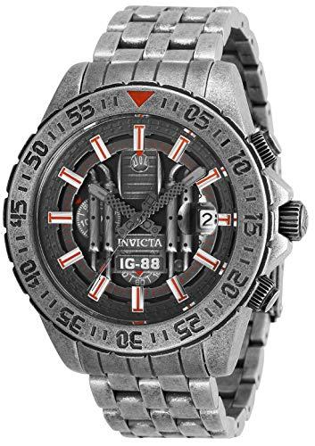 インヴィクタ インビクタ 腕時計 メンズ Invicta Men's Star Wars Quartz Watch with Stainless Steel Strap, Silver, 22 (Model: 27430)インヴィクタ インビクタ 腕時計 メンズ