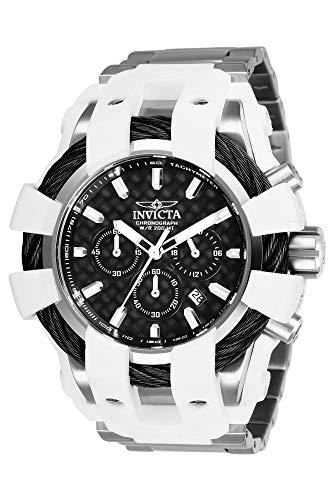 インヴィクタ インビクタ 腕時計 メンズ 【送料無料】Invicta Men's Bolt Quartz Watch with Stainless Steel Strap, Silver, 28.7 (Model: 26670)インヴィクタ インビクタ 腕時計 メンズ