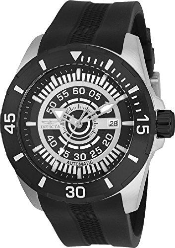インヴィクタ インビクタ 腕時計 メンズ Invicta Men's S1 Rally Black Silicone Band Steel Case Automatic Analog Watch 25770インヴィクタ インビクタ 腕時計 メンズ