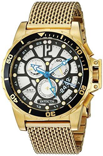 インヴィクタ インビクタ 腕時計 メンズ 【送料無料】Invicta Men's Corduba Quartz Watch with Stainless-Steel Strap, Gold, 22 (Model: 23491)インヴィクタ インビクタ 腕時計 メンズ