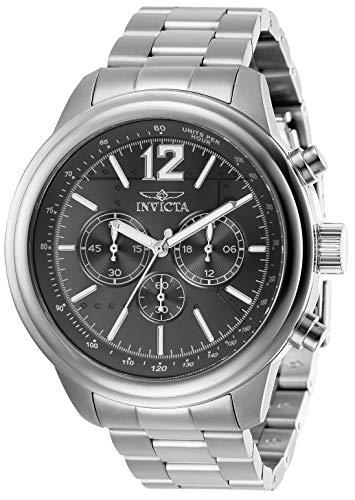 インヴィクタ インビクタ 腕時計 メンズ 【送料無料】Invicta Men's Aviator Quartz Watch with Stainless Steel Strap, Silver, 22 (Model: 28894)インヴィクタ インビクタ 腕時計 メンズ