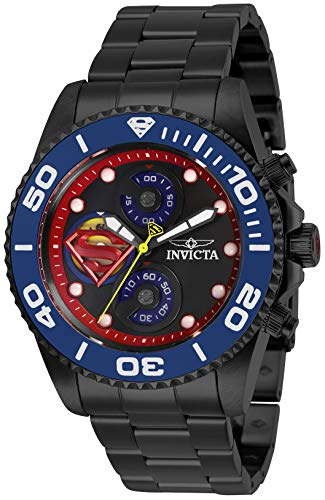 インヴィクタ インビクタ 腕時計 メンズ Invicta Men's DC Comics Quartz Watch with Stainless Steel Strap, Black, 22 (Model: 29065)インヴィクタ インビクタ 腕時計 メンズ