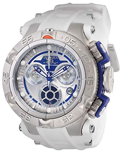 インヴィクタ インビクタ 腕時計 メンズ Invicta Men's Star Wars Stainless Steel Quartz Watch with Silicone Strap, White, 29 (Model: 26172)インヴィクタ インビクタ 腕時計 メンズ
