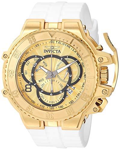 インヴィクタ インビクタ 腕時計 メンズ Invicta Men's Excursion Stainless Steel Analog Quartz Watch with Silicone Strap, White, 26.4 (Model: 27512)インヴィクタ インビクタ 腕時計 メンズ