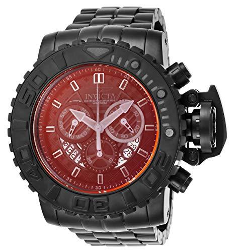 インヴィクタ インビクタ 腕時計 メンズ 【送料無料】Invicta Men's Sea Hunter Quartz Watch with Stainless Steel Strap, Black, 30 (Model: 26326)インヴィクタ インビクタ 腕時計 メンズ