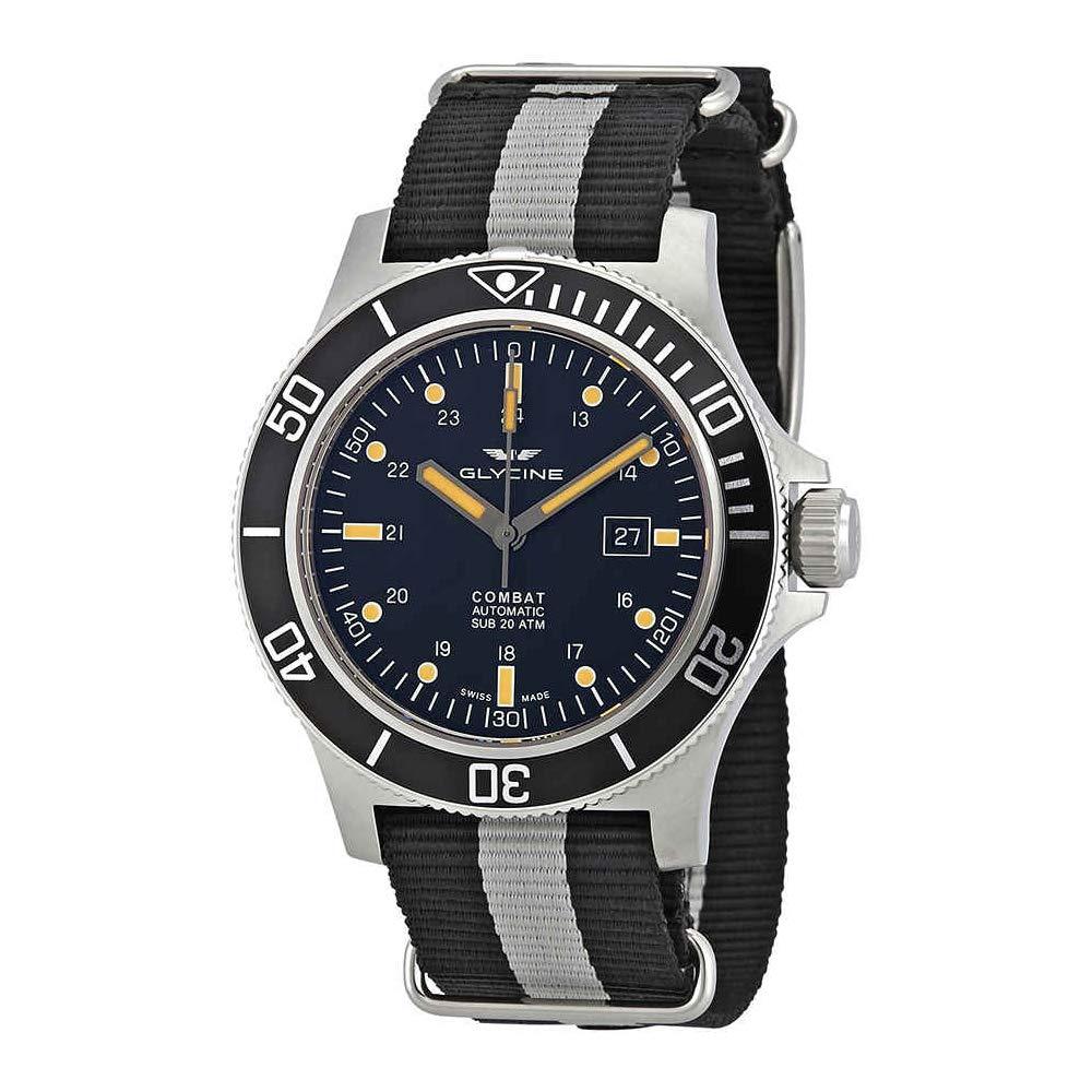 グリシン スイスウォッチ 腕時計 メンズ グライシン 【送料無料】Glycine Combat SUB Automatic Black Dial Men's Watch GL0097グリシン スイスウォッチ 腕時計 メンズ グライシン