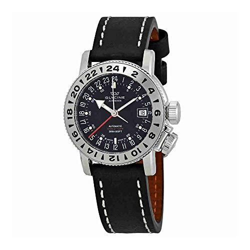 グリシン スイスウォッチ 腕時計 メンズ グライシン 【送料無料】Glycine Airman 18 GMT Automatic Black Dial Mens Watch GL0225グリシン スイスウォッチ 腕時計 メンズ グライシン